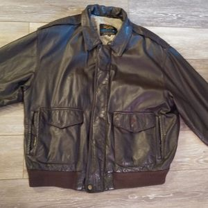 Rare American born brown leather jacket